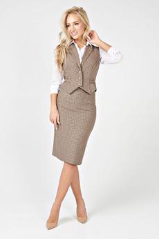 Костюм: юбка и жилет Angela Ricci