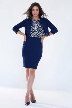 Комплект: платье и жакет Angela Ricci