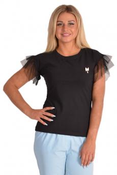 Новинка: футболка с рукавами крылышками Трикотажница